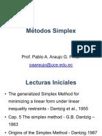 2. Método Simplex