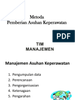 Model Pengorganisasian Keperawatan