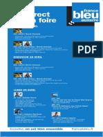 France Bleu Auxerre - Programme en direct sur la foire de Sens