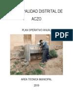 Plan Operativo Anual Atm