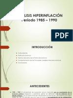 Hiperinflación 1985-1990