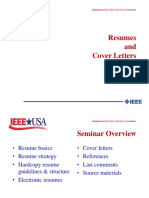 IEEE Resumes - Emplyment & Career Services Commitee