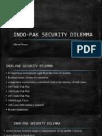 India-pak Security Dilemma