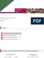 Rol de La Inversion Privada en El Comercio Exterior