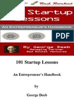 101 Startup Lessons_ An Entrepreneur's Han - George Deeb.pdf