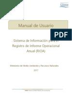 Manual de Usuario RIOA