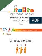 Presentacion Primeros Auxilios Psicologicos