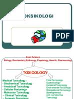 Pengantar Kuliah Toksikologi 1
