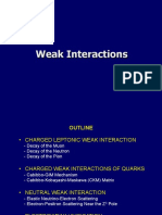 Weak interaction