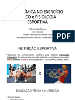 Aula 01 - Nutrição No Esporte USP