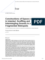 Constructions of Spaces of Music in Istanbul