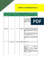 Nueva Matriz de Requisitos Legales HSE Cootranurb
