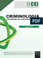 Apostila - Criminologia