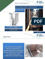 Normas de Seguridad Para Excavacion de Zanjas Duke Energy