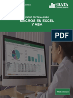 Curso Especializado Macros en Excel