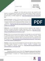 Legislação - documentos oficiais -  vurso de gestão para diretores do Estado do Paraná