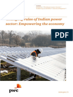 Changing Rules of Indian Power Sector Empowering the Economy