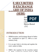 The Securities and Exchange Board of India