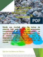 """Presentación """"Bolsas Plasticas"""""""