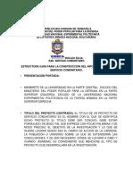 ESTRUCTURA GUIA PARA LA CONSTRUCCIÓN DEL INFORME FINAL DE SERVICIO COMUNITARIO. N 2.docx