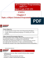 Chapter-3.1(Basics of Object Oriented Programming)