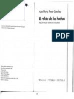 AMAR SÁNCHEZ - El Relato de Los Hechos_ Rodolfo Walsh Testimonio y Escritura (Selecc)