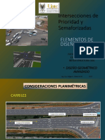 Intersecciones de prioridad y semaforizacion UPTC