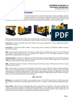 A Guide to Gensets