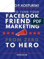 How to Turn Your Facebook Friendly Marketing From Zero to Hero