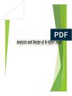 Analysis and Design of Al-Affori Hotel