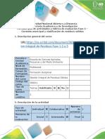 Guía de actividades y rúbrica de evaluación - Fase 2 -gestion integral residuos solidos.