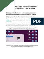 CÓMO GRABAR EL SONIDO INTERNO DE MAC CON QUICKTIME PLAYER.docx