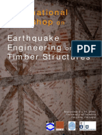 International Workshop on. Earthquake Engineering on Timber Structures. November 9 10, 2006 University of Coimbra Coimbra, Portugal.pdf