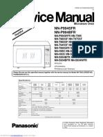 Microondas Panasonic Inverte Manual