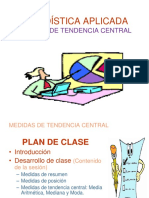 Medidas de Tendencia Central. (1)
