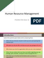 Human Resource Managementppt