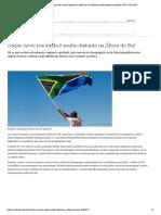 Nação Arco-Íris ainda é sonho distante na África do Sul _ Notícias internacionais e análises _ DW _ 27.04.2019