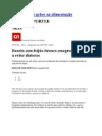 FEIJÃO BRANCO EMAGRECE!