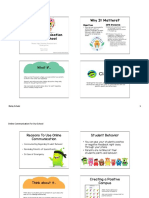 schutz onlinecommunication handout
