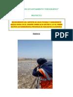 Informe Topografico El Palto