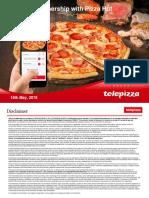 Telepizza Investor Presentation 16052018