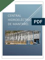 central hidroelectrica de mantaro