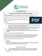 Orientaciones Trabajo El Cómo de La EpS I 2019