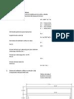 Analisis de Entibado de Madera 4x4 - Huachipa
