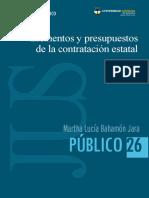 Elementos y Presupuestos de La Contratacion Estatal
