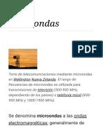 Microondas - Wikipedia, La Enciclopedia Libre