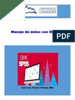 Manejo de Datos en SPSS