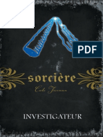 Sorciere tome 10 Investigateur CateTiernan