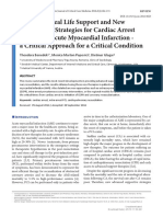 [the Journal of Critical Care Medicine] Extracorporeal Life Support and New Therapeutic Strategies for Cardiac Arrest Caused by Acute Myocardial Infarction - A Critical Approach for a Critical Condition