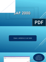 1. Interface Sap 2000